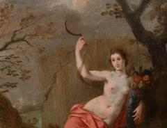 Jan Boets CERES WITH HER SICKLE AND CORNUCOPIA late 17th century - 1794082