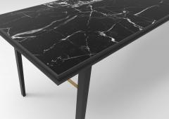 Jan Garncarek AES Black Marble Contemporary Desk Jan Garncarek - 856384