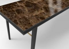 Jan Garncarek AES Emperador Marble Contemporary Desk Jan Garncarek - 856381
