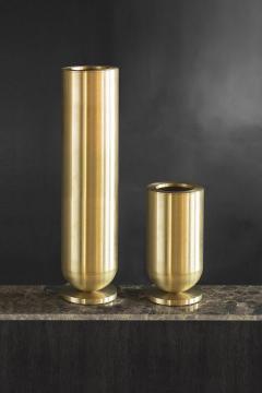 Jan Garncarek Cofete Brass Vase Jan Garncarek - 856364