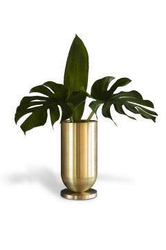 Jan Garncarek Cofete Brass Vase Jan Garncarek - 856354