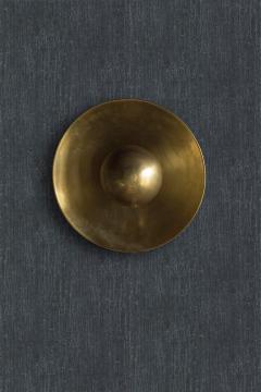 Jan Garncarek Metropolis Brass Sconce by Jan Garncarek - 856402