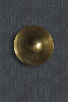 Jan Garncarek Metropolis Brass Sconce by Jan Garncarek - 856406