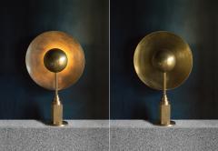 Jan Garncarek Metropolis Brass Table Lamp by Jan Garncarek - 762459