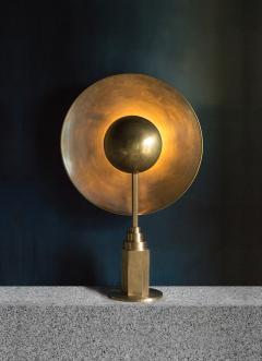 Jan Garncarek Metropolis Brass Table Lamp by Jan Garncarek - 762460
