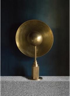 Jan Garncarek Metropolis Brass Table Lamp by Jan Garncarek - 762461