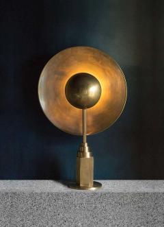 Jan Garncarek Metropolis Noir Brass Limited Edition Table Lamp by Jan Garncarek - 1474673