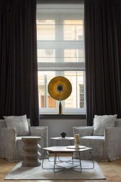 Jan Garncarek Metropolis Noir Brass Limited Edition Table Lamp by Jan Garncarek - 1474675