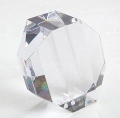 Jan Johansson Jan Johansson For Orrefords Modernist Glass Sculpture - 1057751