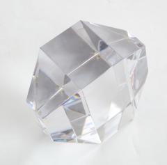 Jan Johansson Jan Johansson For Orrefords Modernist Glass Sculpture - 1057752