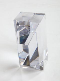 Jan Johansson Jan Johansson For Orrefords Modernist Glass Sculpture - 1057753