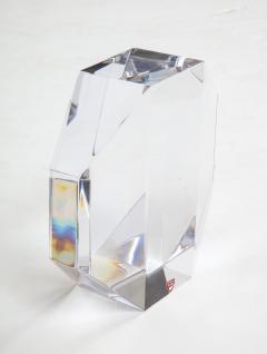 Jan Johansson Jan Johansson For Orrefords Modernist Glass Sculpture - 1057762