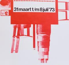 Jan Kuipers Piet Zwart Exhibition Poster - 741542