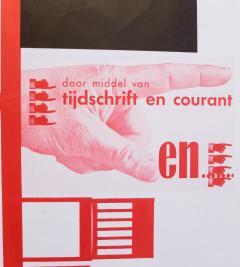 Jan Kuipers Piet Zwart Exhibition Poster - 741543
