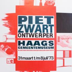 Jan Kuipers Piet Zwart Exhibition Poster - 741544