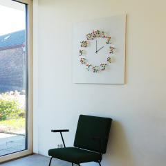 Jan Paul Meulendijks Discodip illusionistic wall clock - 1326324