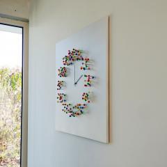 Jan Paul Meulendijks Discodip illusionistic wall clock - 1326329