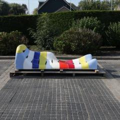 Jan Snoeck Jan Snoeck Ceramics Daybed or Sculpture from the MS Volendam Netherlands - 967435