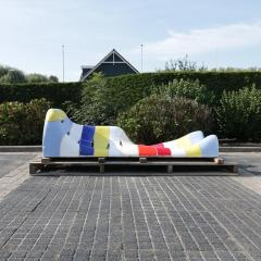 Jan Snoeck Jan Snoeck Ceramics Daybed or Sculpture from the MS Volendam Netherlands - 967436