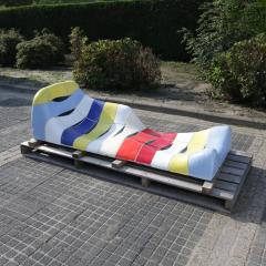 Jan Snoeck Jan Snoeck Ceramics Daybed or Sculpture from the MS Volendam Netherlands - 967439