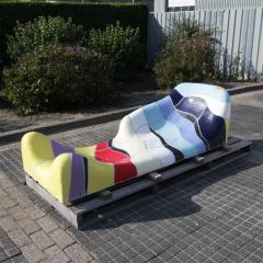 Jan Snoeck Jan Snoeck Ceramics Daybed or Sculpture from the Ms Volendam Netherlands 1991 - 967467