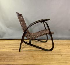 Jan Vanek Jan Van k Bentwood Beech Lounge Chair 1930s Czech - 1805966