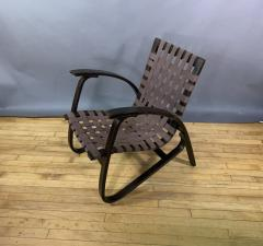 Jan Vanek Jan Van k Bentwood Beech Lounge Chair 1930s Czech - 1805967