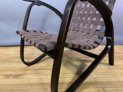 Jan Vanek Jan Van k Bentwood Beech Lounge Chair 1930s Czech - 1805970