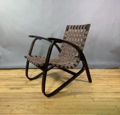 Jan Vanek Jan Van k Bentwood Beech Lounge Chair 1930s Czech - 1805971