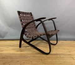 Jan Vanek Jan Van k Bentwood Beech Lounge Chair 1930s Czech - 1805972