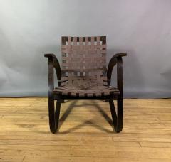 Jan Vanek Jan Van k Bentwood Beech Lounge Chair 1930s Czech - 1805973