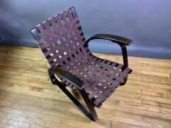 Jan Vanek Jan Van k Bentwood Beech Lounge Chair 1930s Czech - 1805974