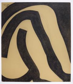 Jan Yoors Charcoal drawing by Jan Yoors 1975 - 1972448