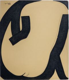 Jan Yoors Jan Yoors Charcoal Drawing - 891372