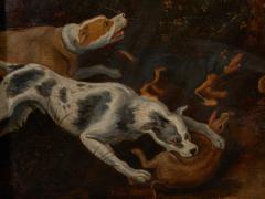 Jan van Kessel the Elder Flemish 1626 1679 Kessel 17th C Baroque Hunting Scene Wild Boar Hunt - 2051049