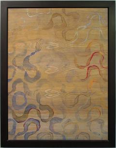 Jane Park Wells 4 Seasons Series Dye Acrylic and Oil on Variations of Wood Jane Park Wells - 626616