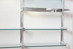 Janet Schwietzer Illuminated Orba Wall Unit by Janet Schwietzer for Pace Collection - 1920523