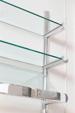 Janet Schwietzer Illuminated Orba Wall Unit by Janet Schwietzer for Pace Collection - 1920532