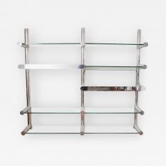 Janet Schwietzer Illuminated Orba Wall Unit by Janet Schwietzer for Pace Collection - 1947414
