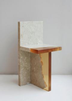 Jang Hea Kyoung Crystal Resin and Marble Fragment Chair Jang Hea Kyoung - 1331364