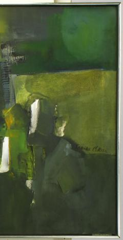 Janine Collier Janine Collier American 20th C Oil On Canvas Titled Val dOise  - 197813