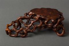 Japanese 19th Century Hand Carved Root Stand - 1523963