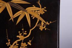 Japanese 19th Century Lacquer Letter Box With Gold Makie - 1511622