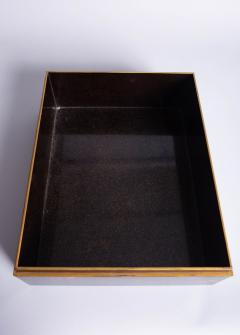 Japanese 19th Century Lacquer Letter Box With Gold Makie - 1511634