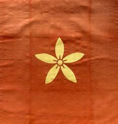 Japanese Antique Fukusa Textile Art Meiji Period - 1119014