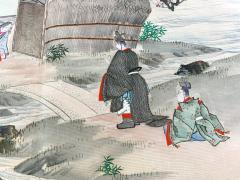Japanese Antique Fukusa Textile Art Meiji Period - 1264794