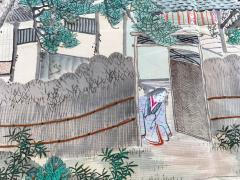 Japanese Antique Fukusa Textile Art Meiji Period - 1264795