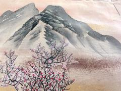 Japanese Antique Fukusa Textile Art Meiji Period - 1264797