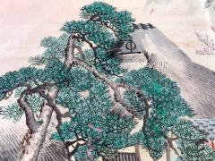 Japanese Antique Fukusa Textile Art Meiji Period - 1264798