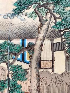 Japanese Antique Fukusa Textile Art Meiji Period - 1264799